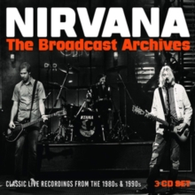 nirvana the broadcast archives (3cd)